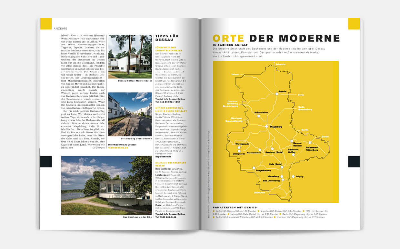 DB mobil Advertorial Bauhaus