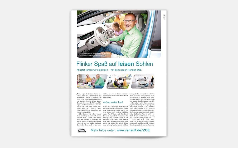 Ab heute fahren wir elektrisch. – Reportage in DB mobil